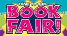 Come to the Book Fair Sign