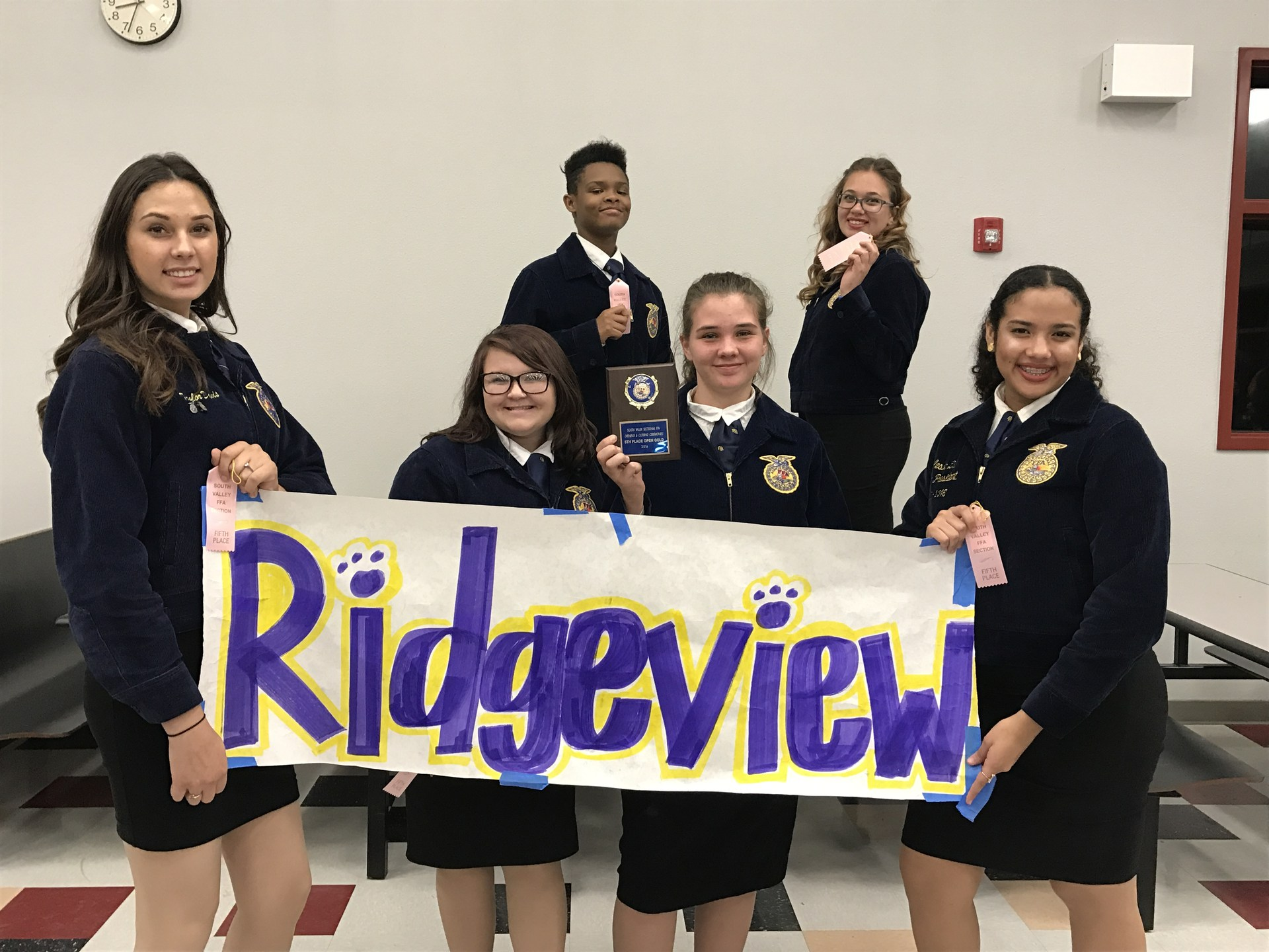 FFA with sign