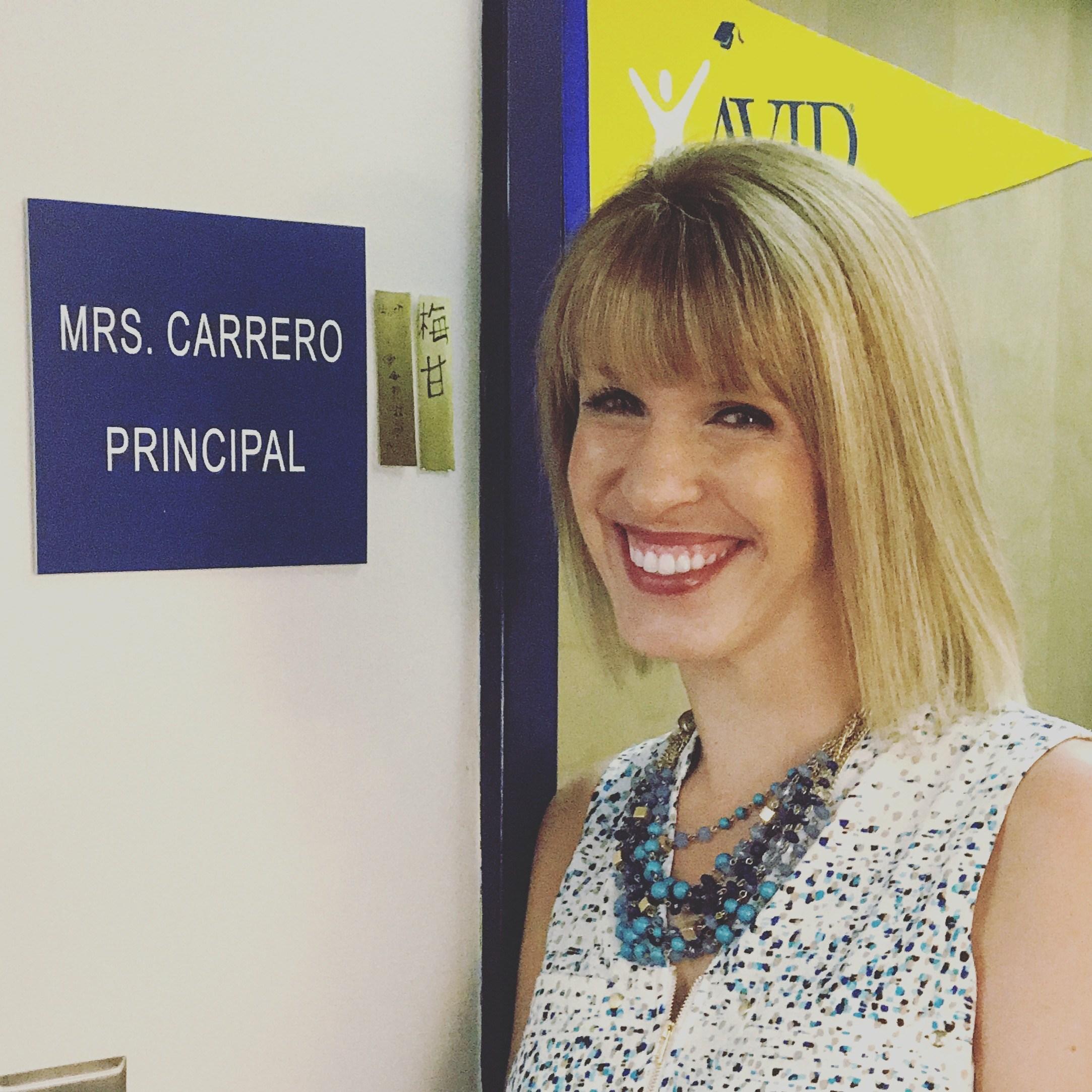Megan Carrero, Principal