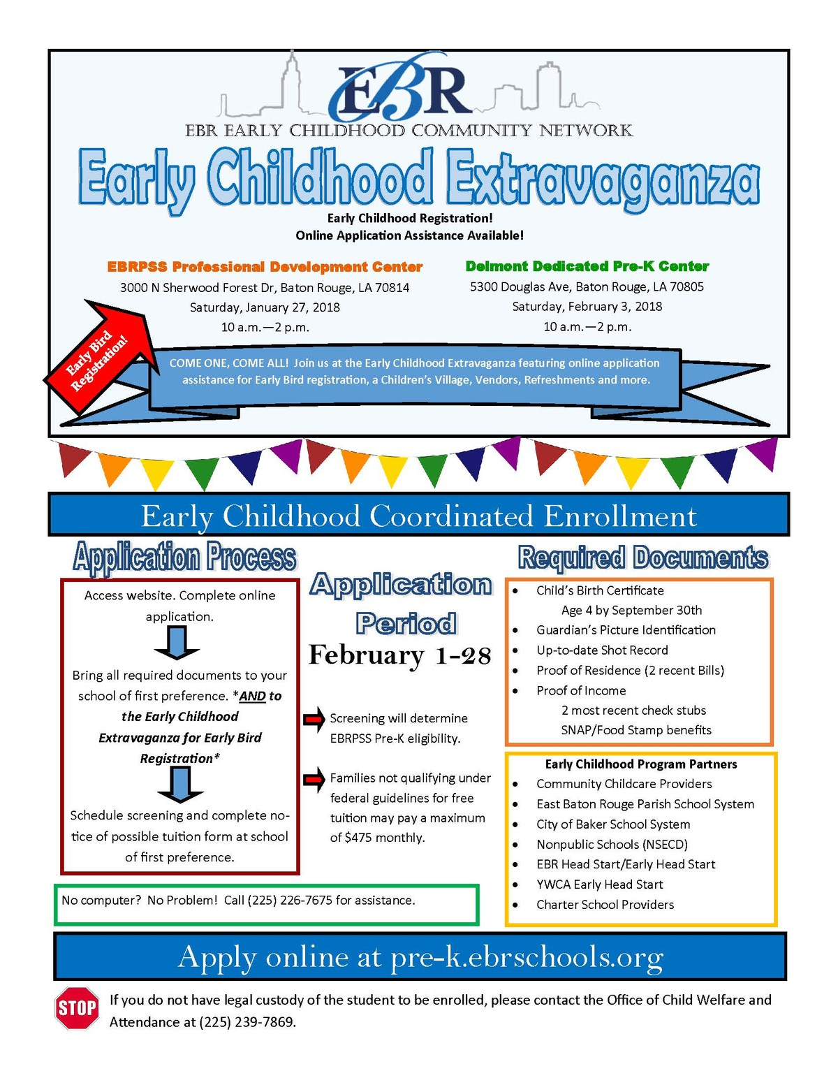 Early childhood extravaganza 2018 miscellaneous city of baker early childhood extravaganza 2018 aiddatafo Gallery
