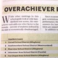 Pittsburgh Business Times Overachiever Ranking