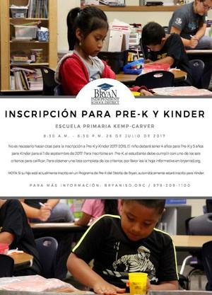 Pre-K & Kinder Flyer & Poster (Spanish).jpg