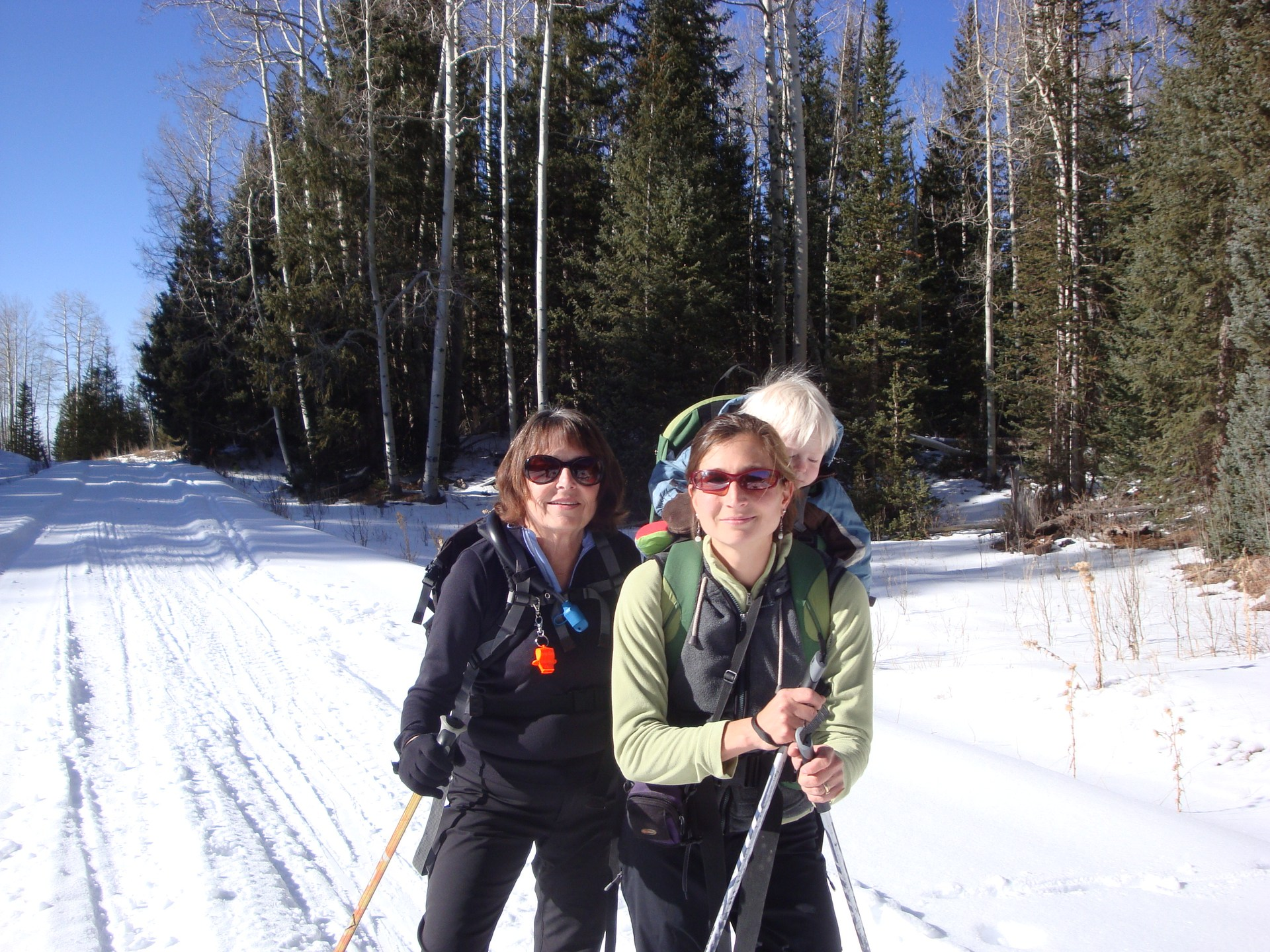 XC Skiing in the La Sals