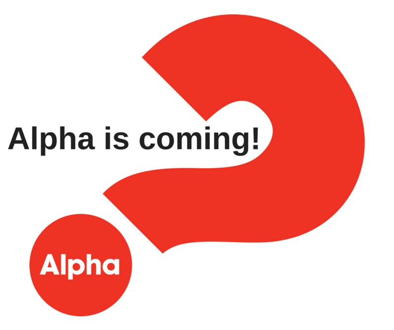 Alpha is coming! Thumbnail Image