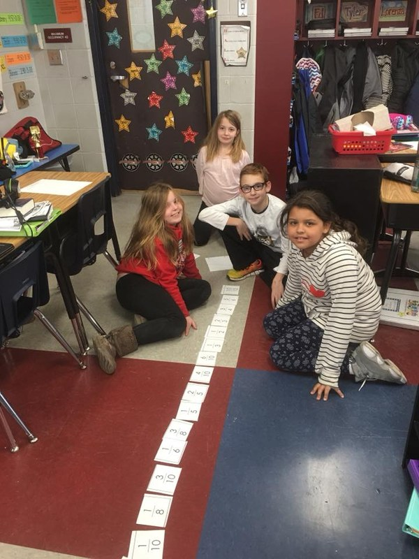 Fourth Grade Comparing Fractions