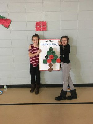 Students show off their game for the dance