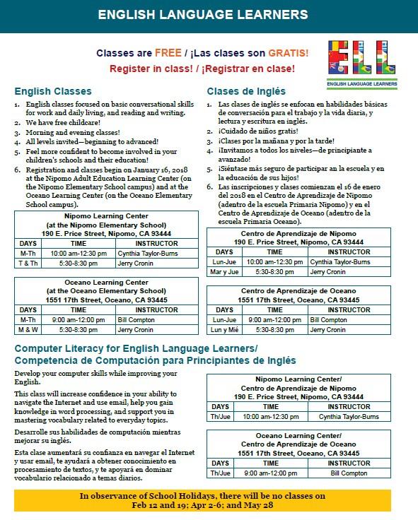 ELL Info