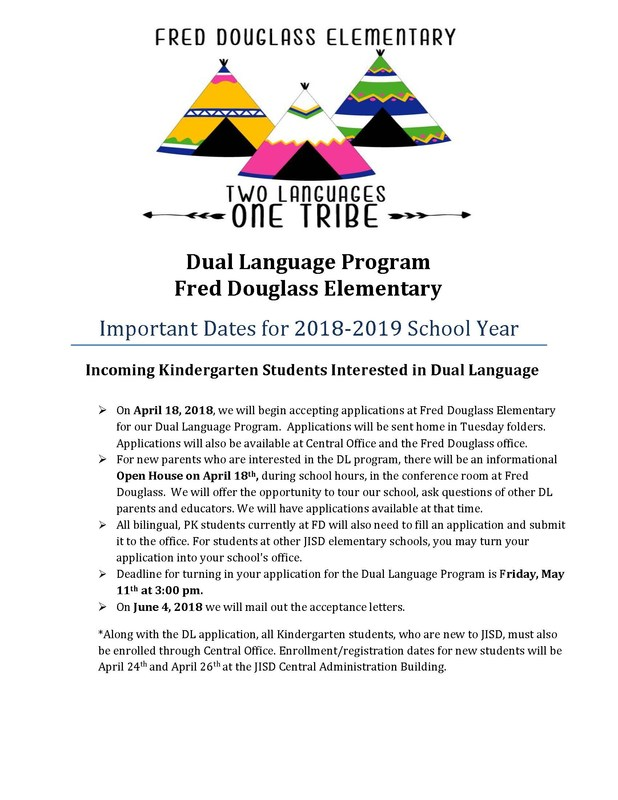 flyer for dual language