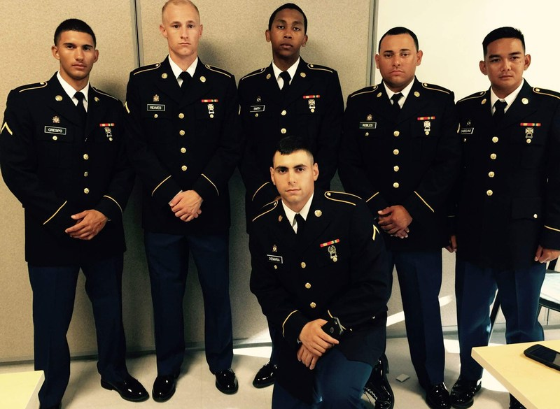 Former graduate now a Sergeant in the US Army Thumbnail Image