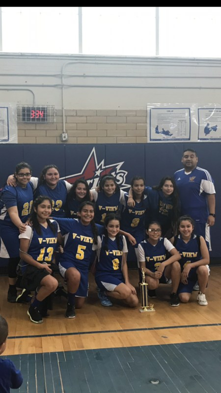 Congratulations go out to our 8th Grade Girls basketball for winning the Mission Jr. High tournament that took place on Friday and Saturday. Thumbnail Image