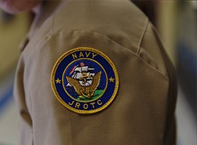 Navy JROTC patch