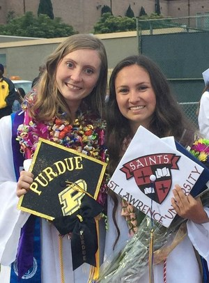 Mikyla and Taylor at ESHS Graduation 2016.jpg