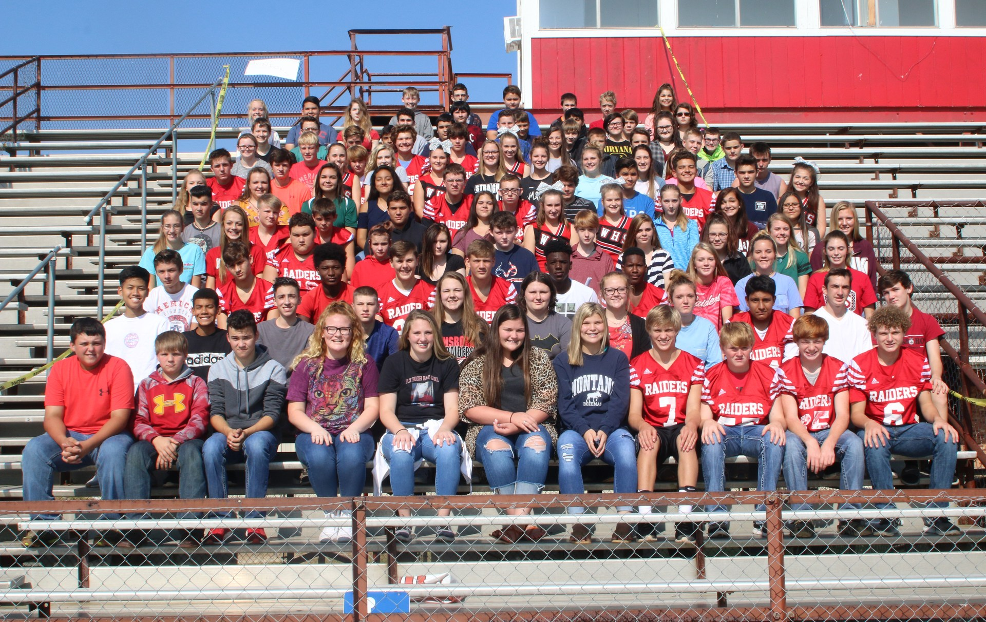This is a picture of the WHS Freshman Class.