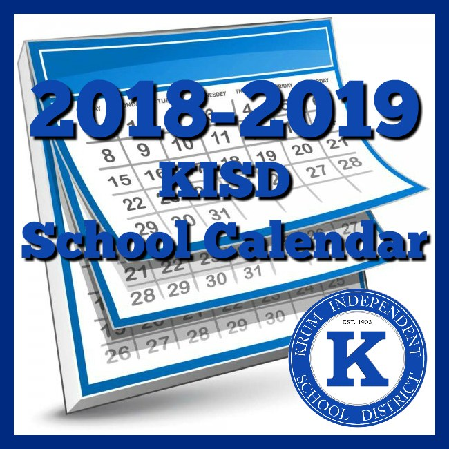 2018-2019 Board Approved District Calendar Release Thumbnail Image