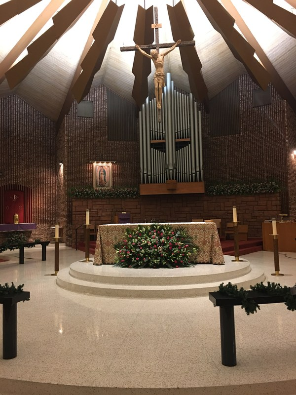 Our Lady of Guadalupe Installed at St. Pius X Thumbnail Image