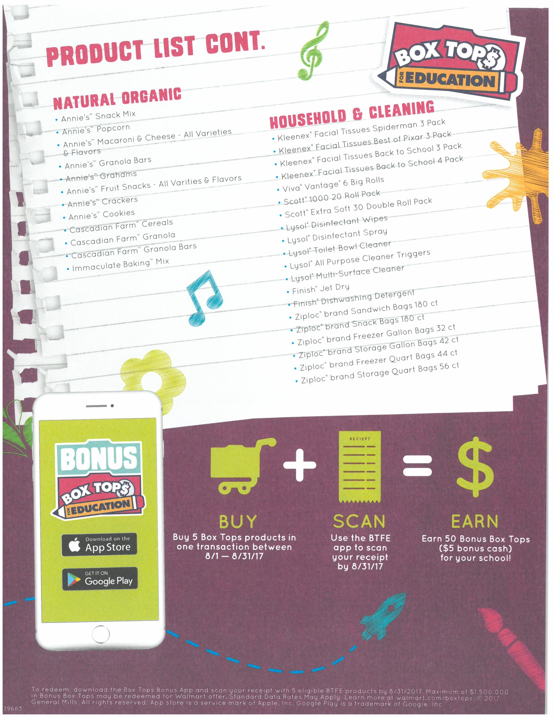 Box Tops for EDU Page 3