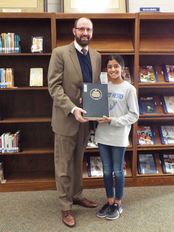 Spelling Bee Winner Divya Srijay