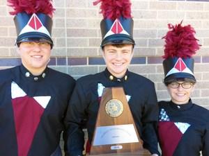 AMCHS Drum Majors.JPG
