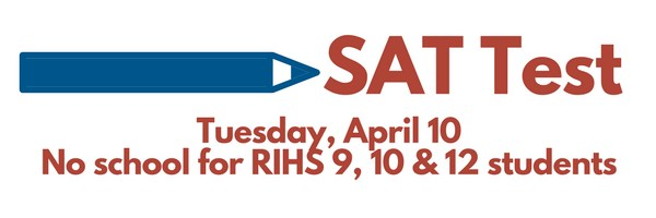 SAT test for RIHS Juniors April 10 Featured Photo