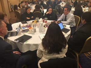 Baldwin Park Unified educators discuss ways of connecting with students during a two-day workshop led by internationally known educator Mike Mattos on Jan. 23-24. About 130 educators from 18 Baldwin Park Unified campuses attended the intensive workshop.