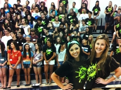 Link Crew Leaders at orientation