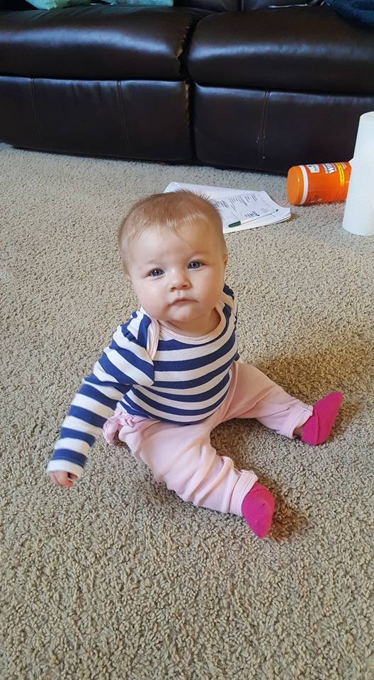 My daughter, Amelia