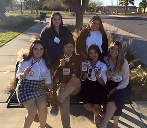 Students advancing to state in team events