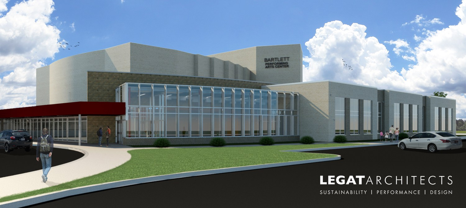 Rendering of the new center
