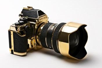 gold camera