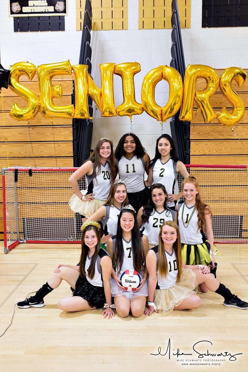 CHS girls volleyball team seniors