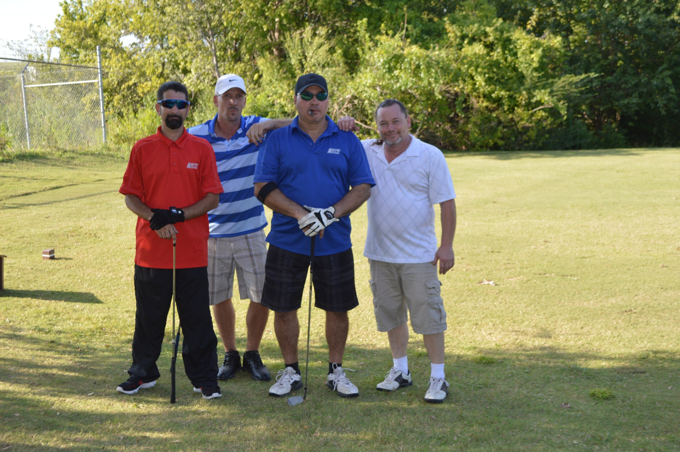 Golf Tournament: On the course