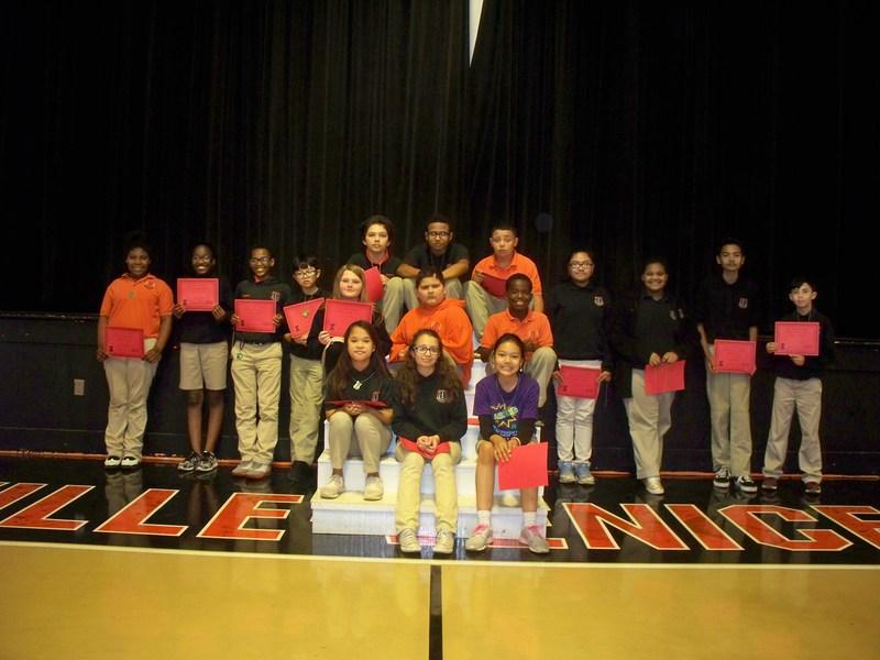 Boothville-Vencie Elementary School 3rd Nine Weeks Honor Roll Thumbnail Image