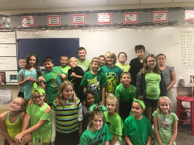 Class color day!