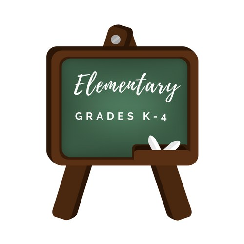 elementary logo decorative