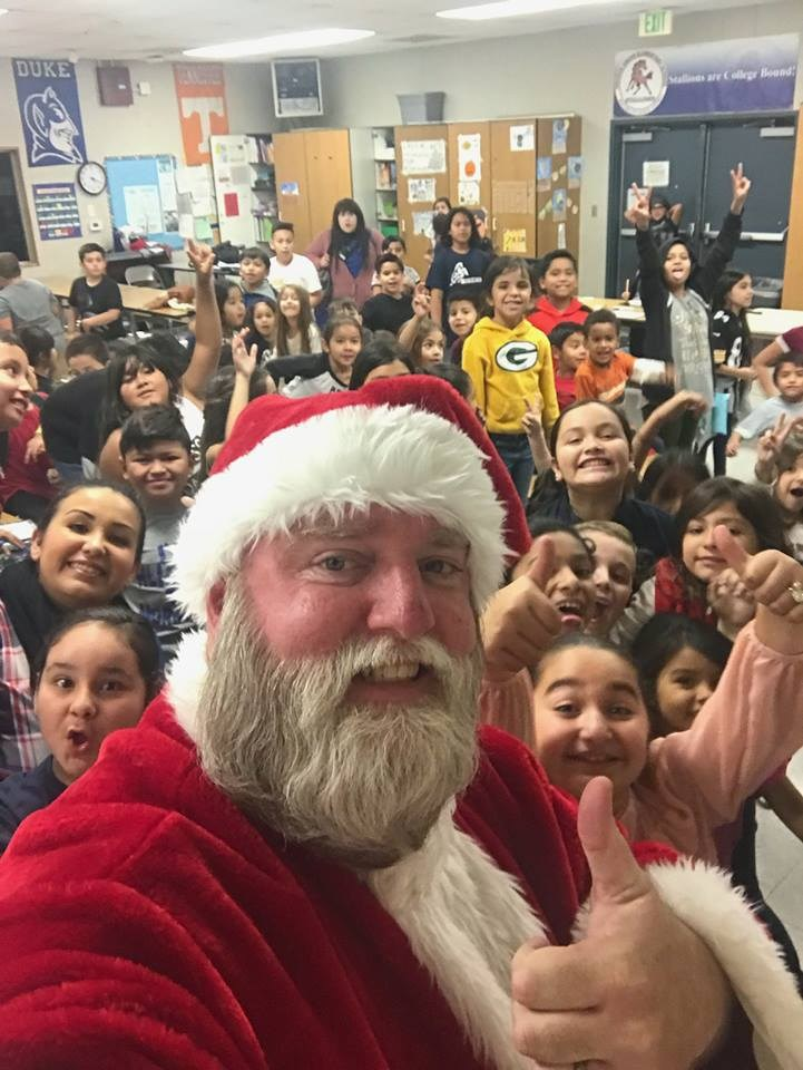 Santa Mike at Orange Grove