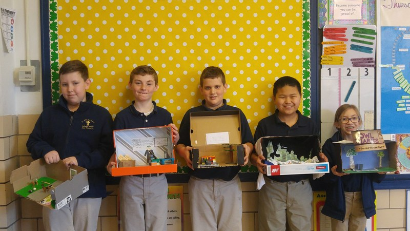 5th Grade Dioramas! Featured Photo