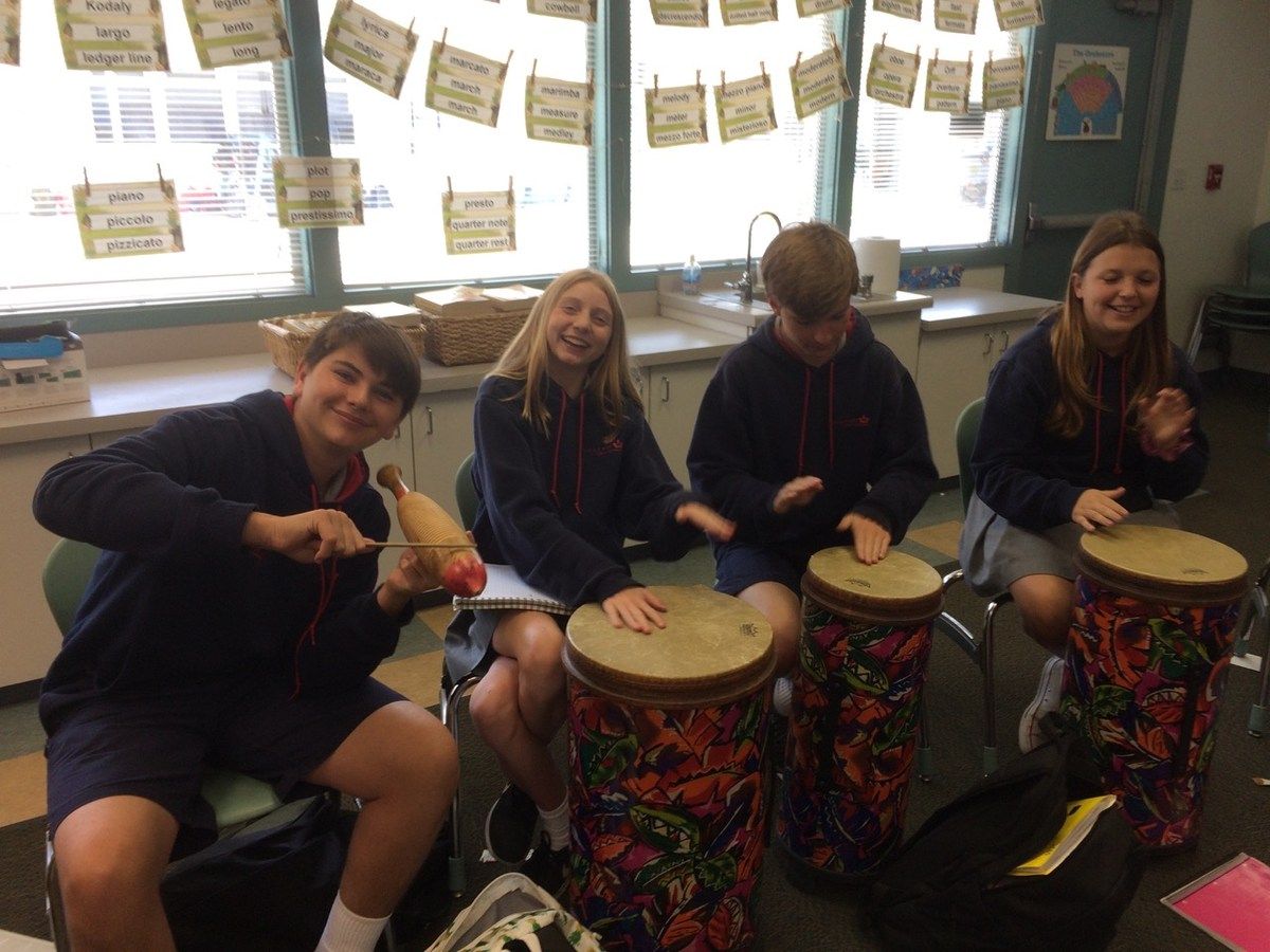 8th grade drumming