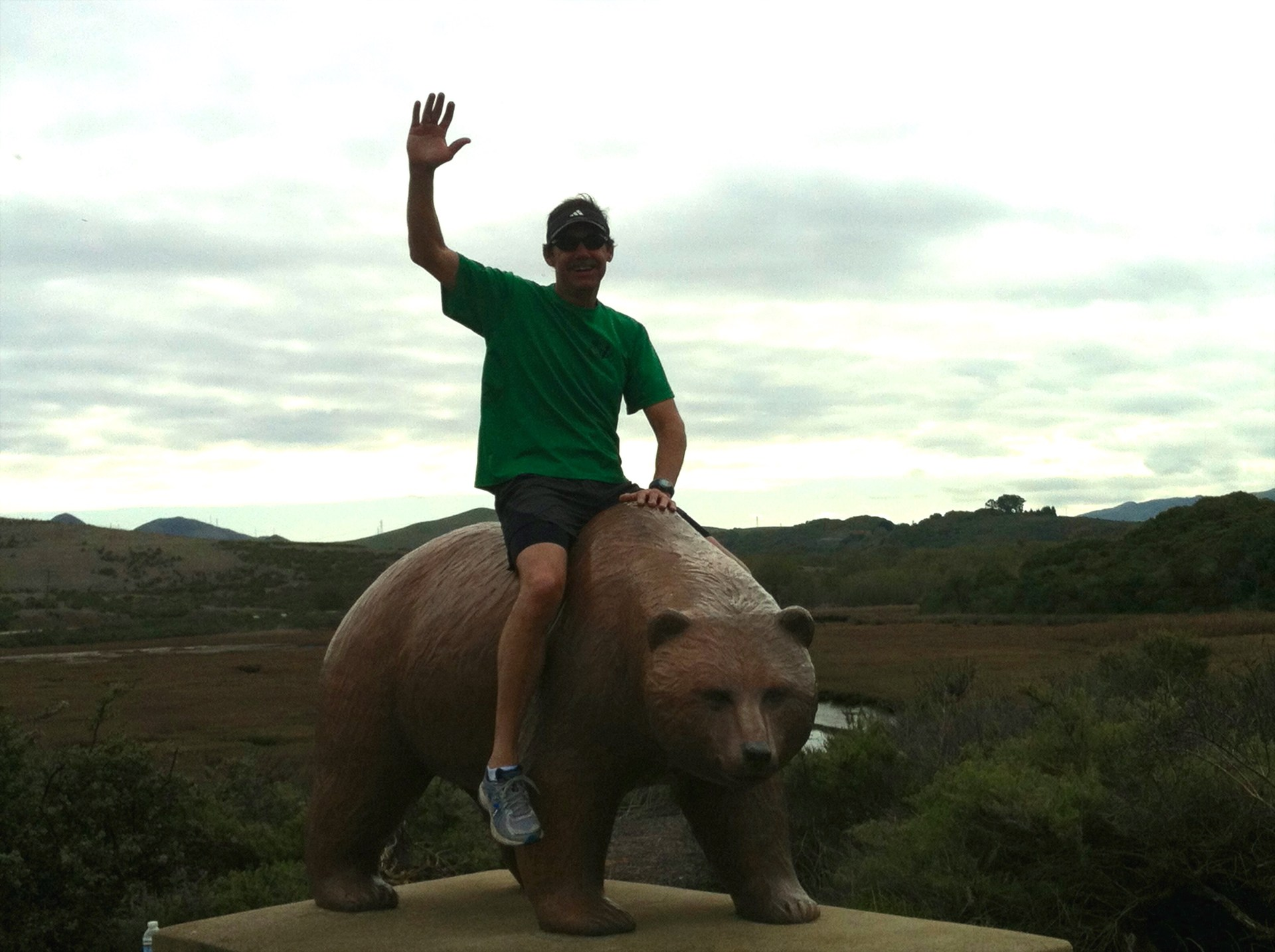 Sitting of the Los Osos bear