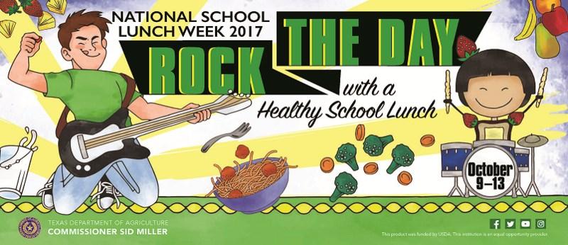 NATIONAL SCHOOL LUNCH WEEK Thumbnail Image