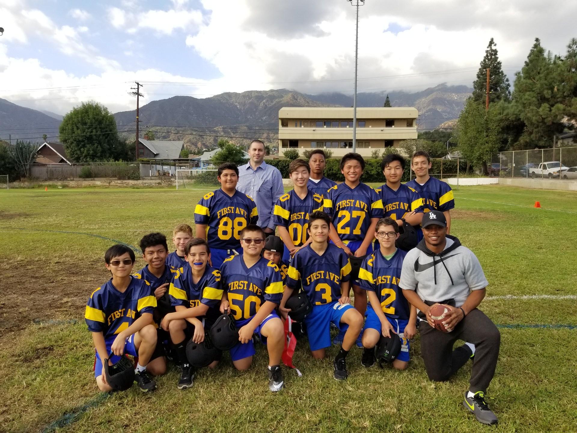 Flag Football Varsity 17-18