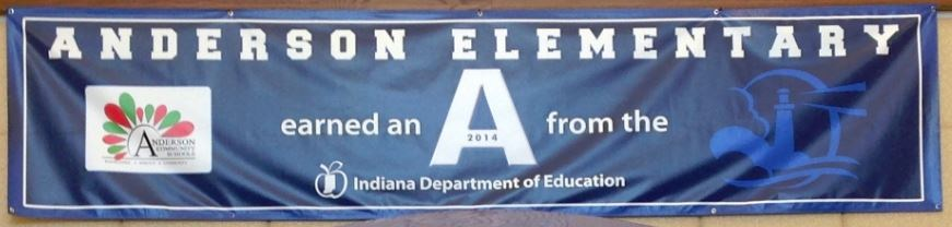 'A' Banner from the IDOE