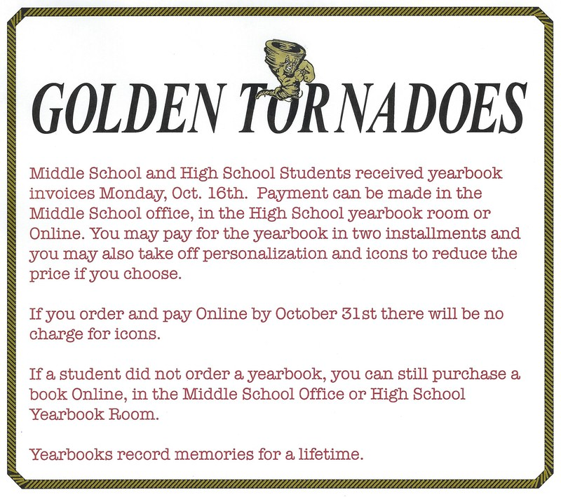 LMS & LHS Yearbook Payments Thumbnail Image