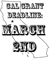 Paying for college college career center hollywood high school a to be considered for a cal grant you must file the fafsa by march 2 2016 the california student aid commission advises ibookread Read Online