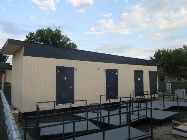 Park Hill Interim Housing Modular Classrooms