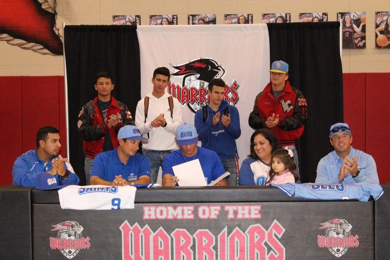 VWHS Senior Noah Rodriguez Signs with OLLU Thumbnail Image