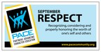 Character Trait of the Month Poster for September: Respect