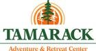 Camp Tamarack Logo with Pine Tree