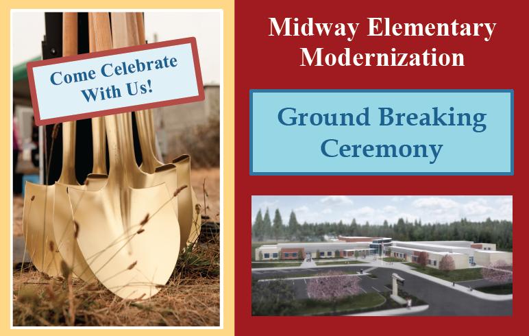 Midway Elementary Modernization Ground Breaking Ceremony Featured Photo