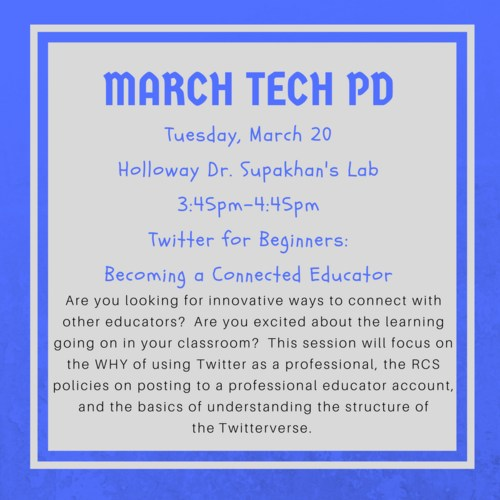 March PD Session