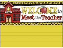 Meet the Teacher Night Monday, August 14th from 5:00-6:00 p.m. Thumbnail Image